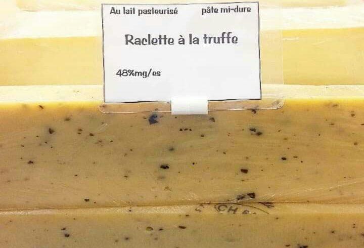 Fromage à raclette à la truffe